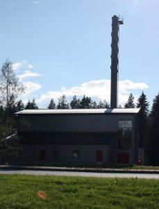 Kaustisen lämmön uusin voimalaitos